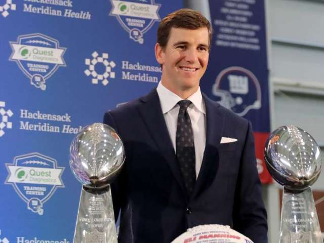Eli Manning Is Selling His Mansion for $5.25 Million