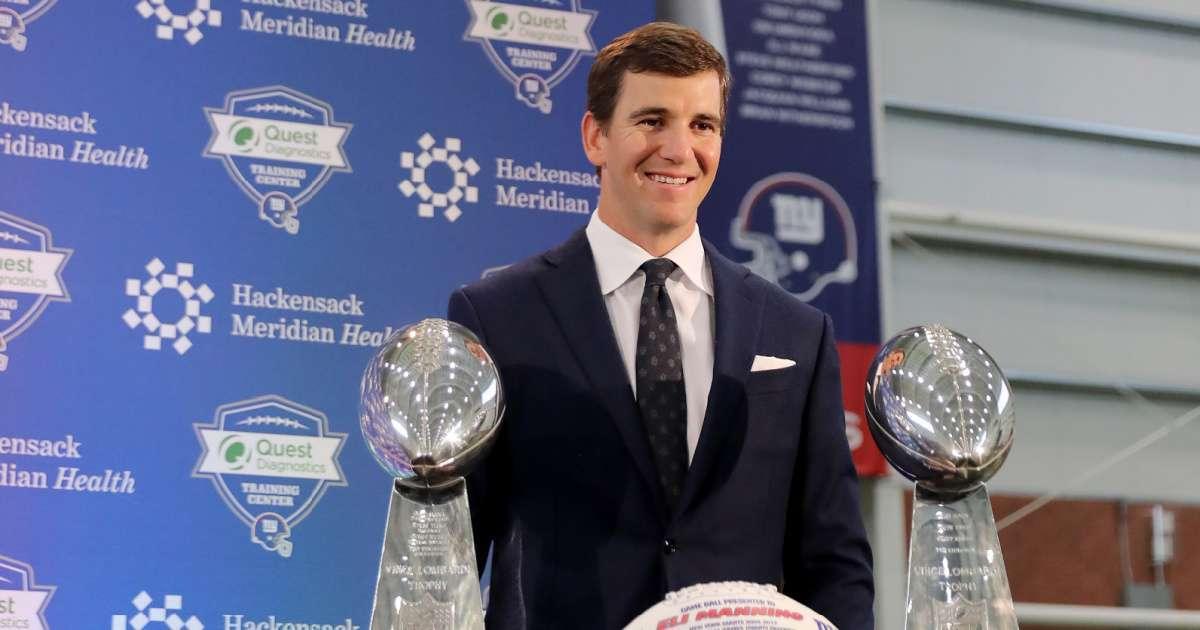 Eli Manning sells mansion