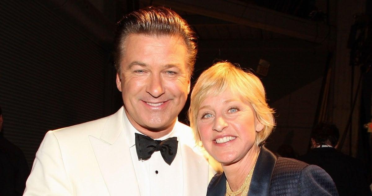 Ellen DeGeneres Alec Baldwin