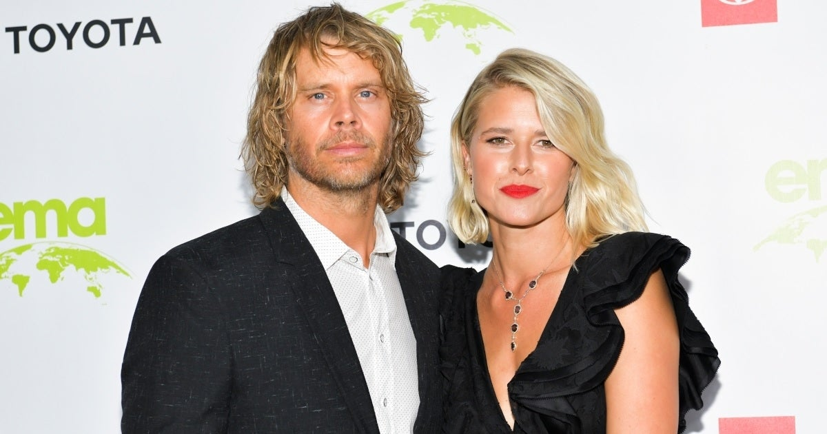 eric christian olsen sarah wright getty images