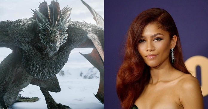 game-of-thrones-dragons-zendaya-hbo-getty