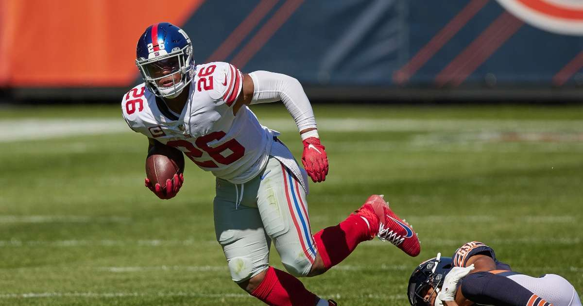 Giants Saquon Barkley tears ACL out 2020 season