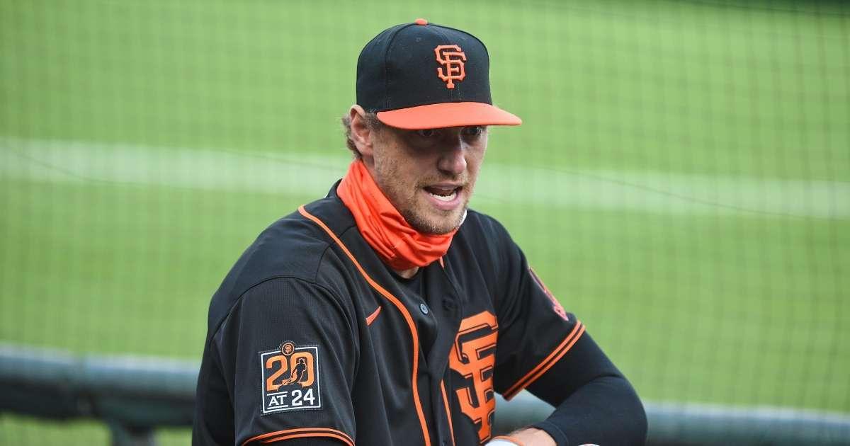 Hunter Pence Giants All-Star retire baseball