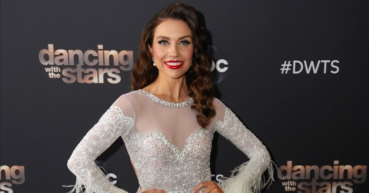 jenna johnson dwts getty images