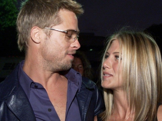 Brad Pitt Blushes as Jennifer Aniston Calls Him 'Cute' During 'Fast Times' Table Read