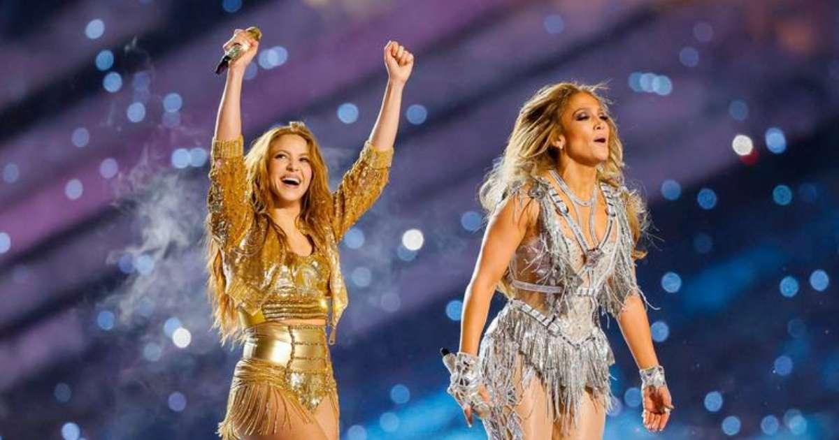 Jennifer Lopez Shakira Super Bowl halfitme show won Emmy