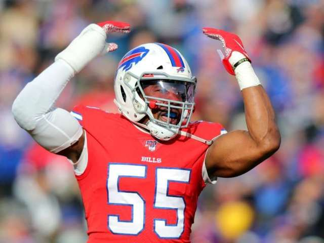 Buffalo Bills' Jerry Hughes Reveals How Team Can Reach Super Bowl (Exclusive)
