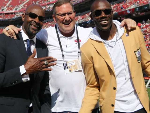 Jerry Rice, Terrell Owens to Join Celebrity Virtual Watch Party for NFL Season Opener