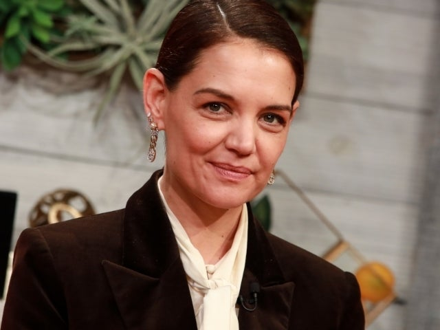 Katie Holmes All Smiles on Date With Chef Emilio Vitolo