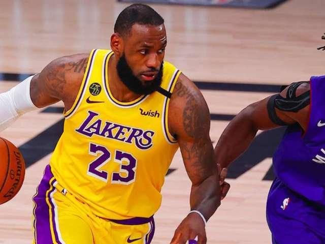 NBA: NASCAR Celebrates LeBron James' Playoffs Appearance With Throwback Bristol Video