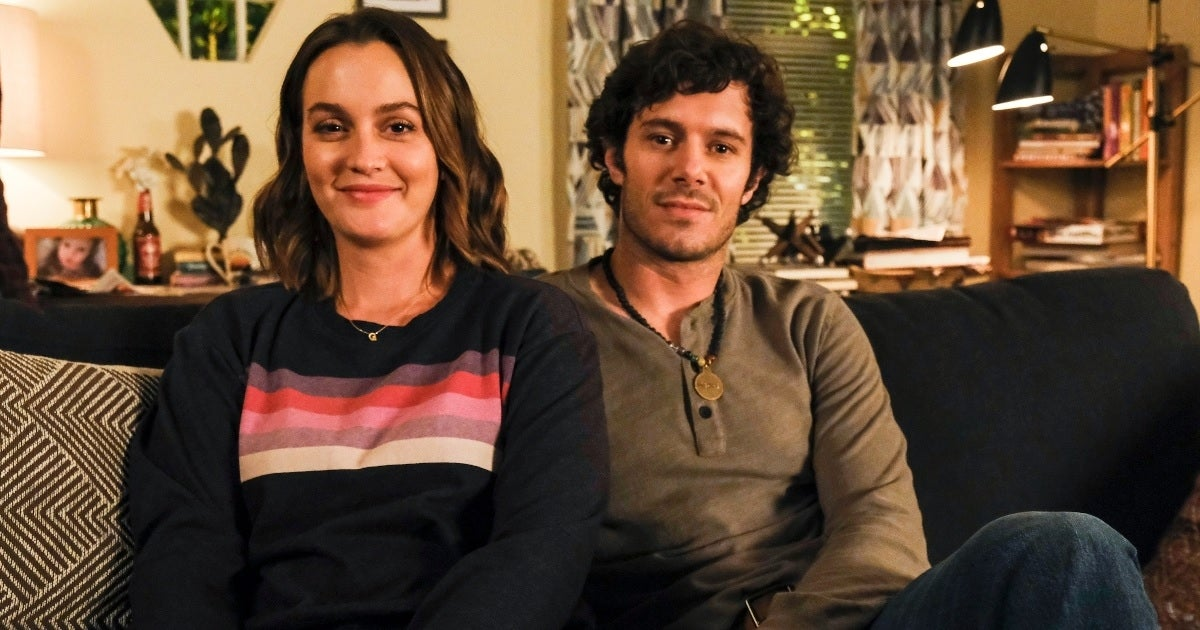 leighton meester adam brody abc getty images