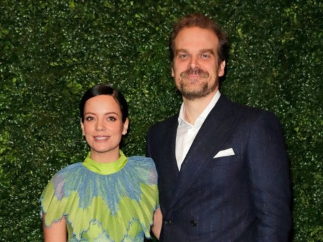 'Stranger Things' Star David Harbour Confirms Wedding to Lily Allen With Photo Alongside Elvis Impersonator