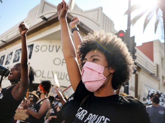 Protests Erupt After Officers Fatally Shoot Black Man in South Los Angeles