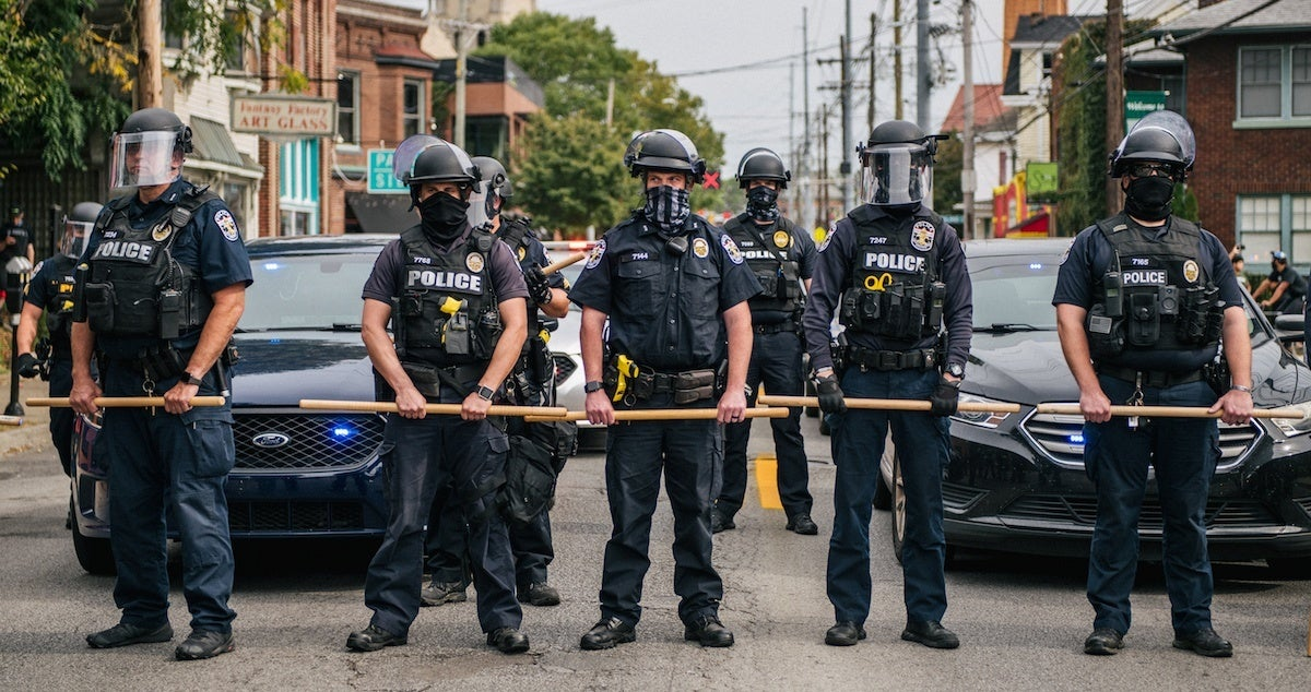 louisville-police-breonna-taylor-getty