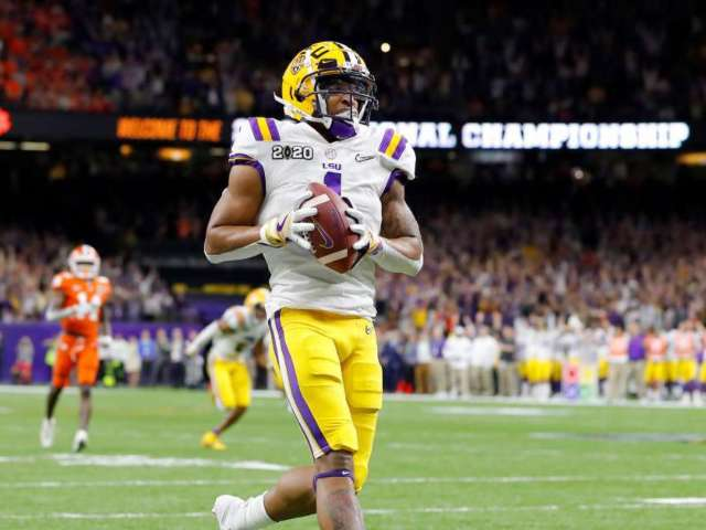 LSU's Ja'Marr Chase Opts out of 2020 Season