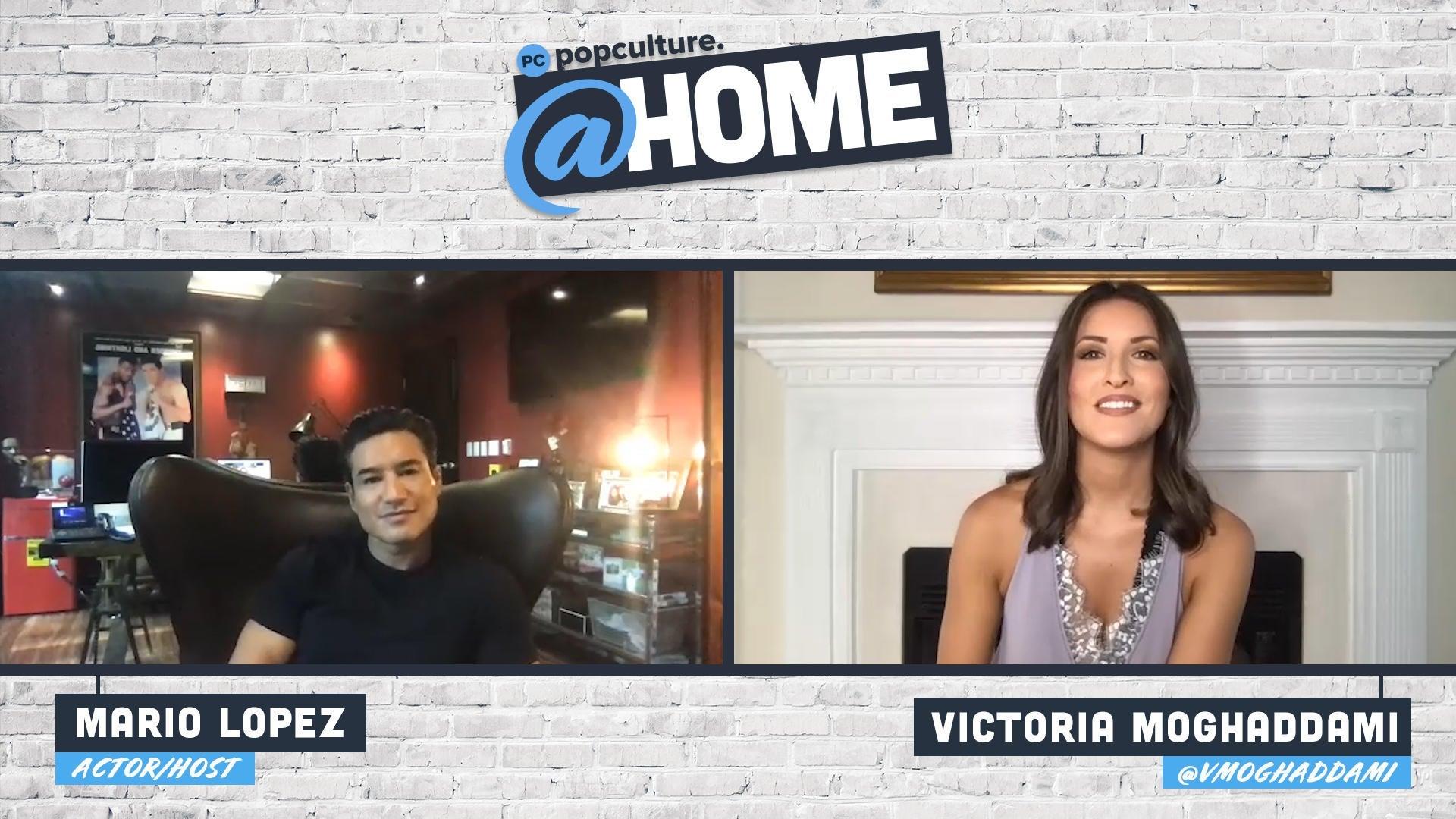 Mario Lopez - PopCulture @Home Exclusive Interview