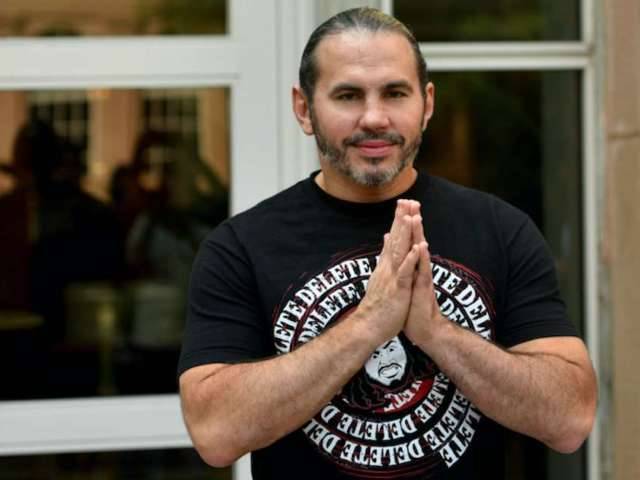 Matt Hardy Hospitalized After Hitting Head on Concrete During AEW All Out