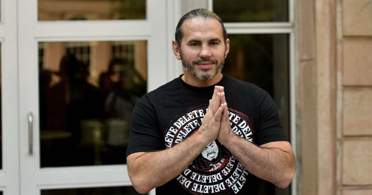 Matt Hardy released hospital botched fall AEW All Out