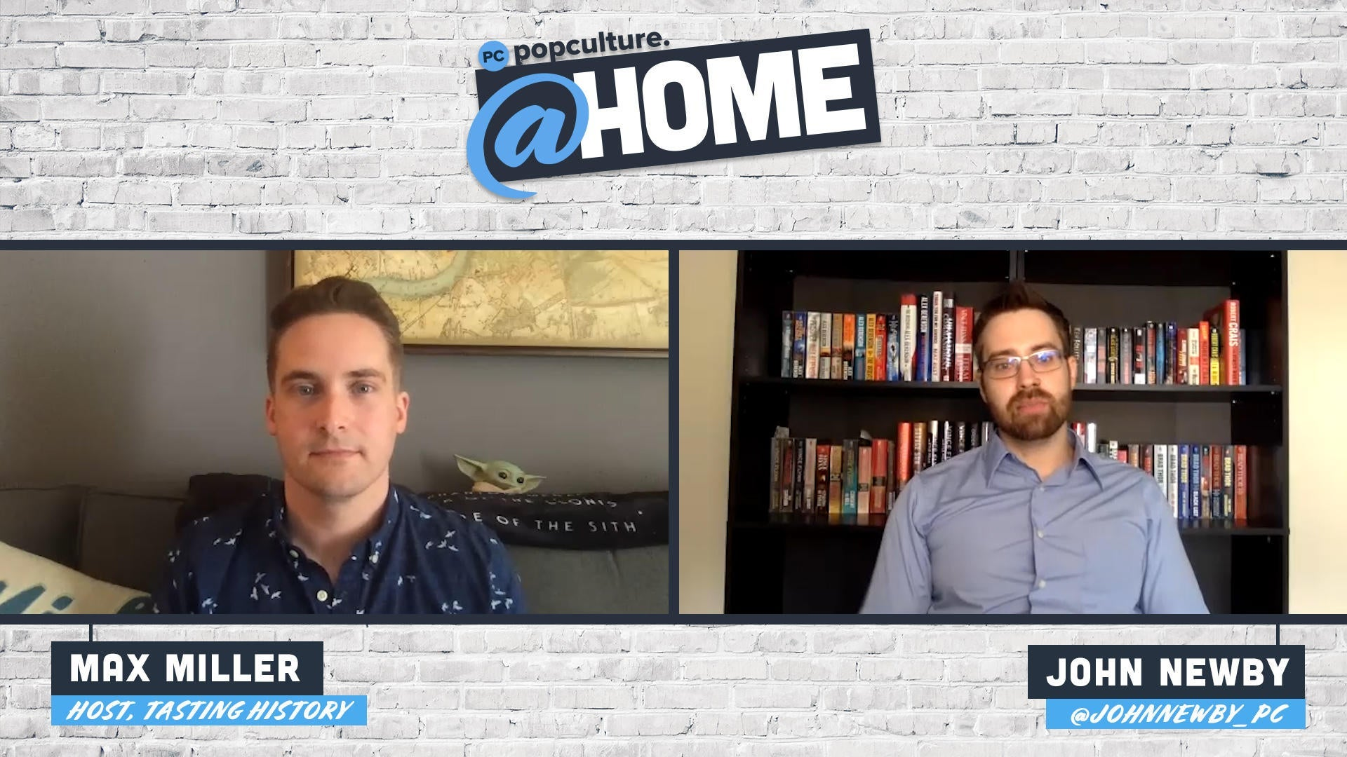 Max Miller Talks Tasting History - PopCulture @Home Exclusive Interview