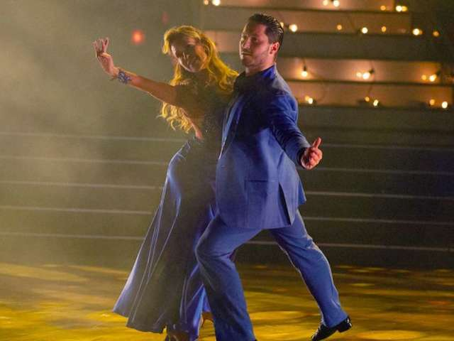 'Dancing With the Stars': Watch Monica Aldama and Val Chmerkovskiy Foxtrot to Rascal Flatts' 'My Wish'
