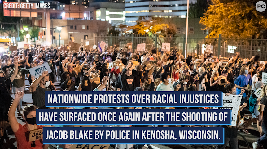 Nationwide Protests Over Racial Injustices Carry On
