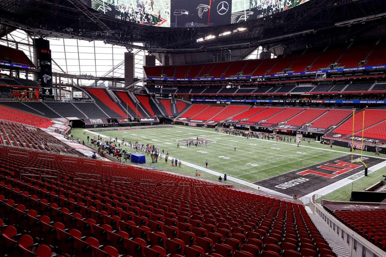 NFL fans games Falcons