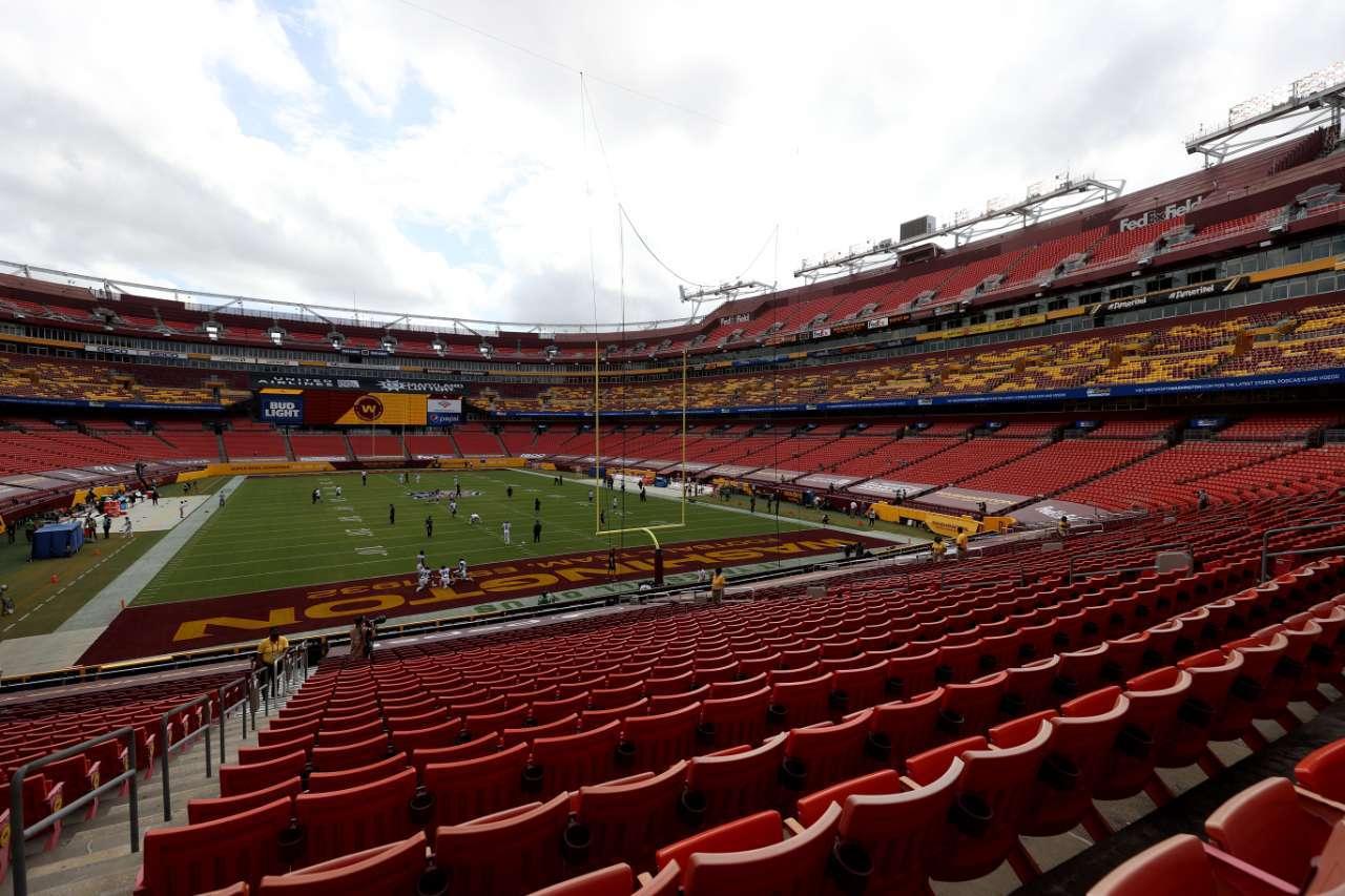 NFL fans games Washington