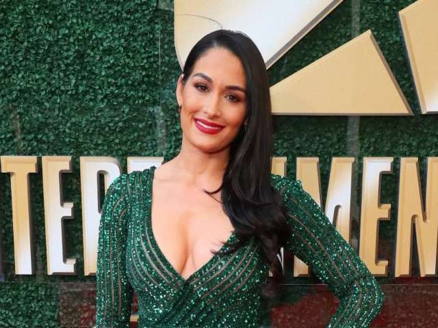 Nikki Bella Is 18 Pounds Away From Her Pre-Pregnancy Weight