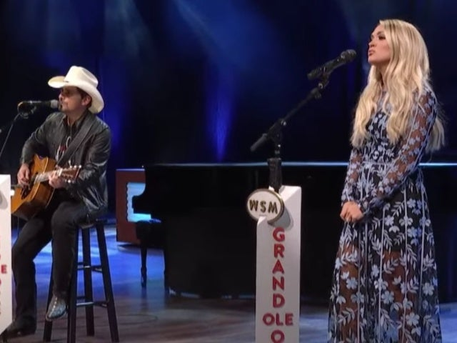 Watch Brad Paisley and Carrie Underwood Perform 'Whiskey Lullaby' on the Opry