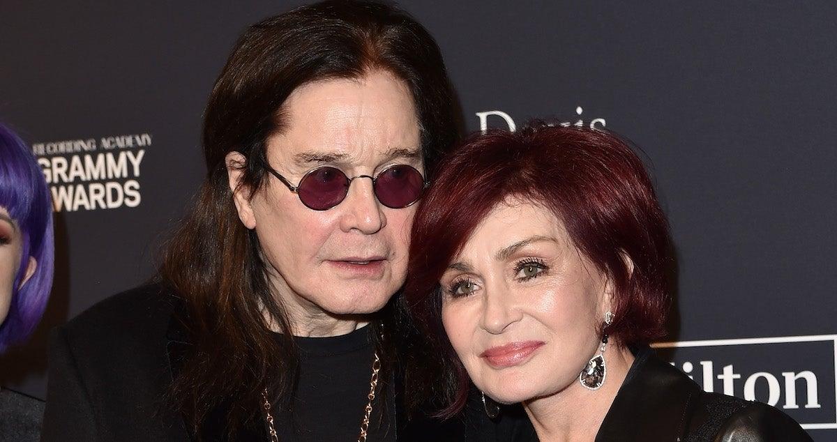 Ozzy Osbourne Sharon Osbourne