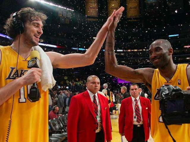 Kobe Bryant's Former Lakers Teammate Pau Gasol Names First Child After Late Star's Daughter, Gianna