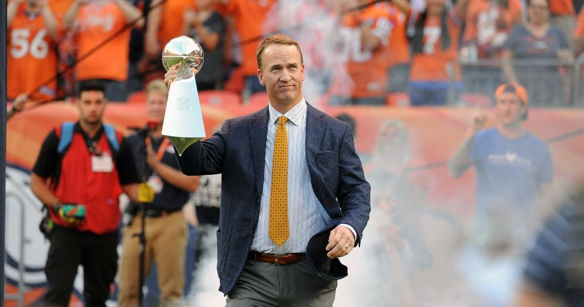 Peyton Manning Pro Football Hall of Fame 2021 class nominee