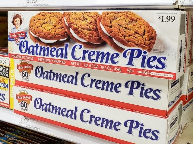 Little Debbie's Oatmeal Creme Pies Coming in Cereal Form