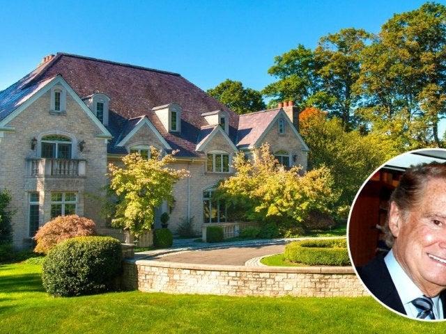 Tour Regis Philbin's Charming, Longtime $4M Connecticut Mansion