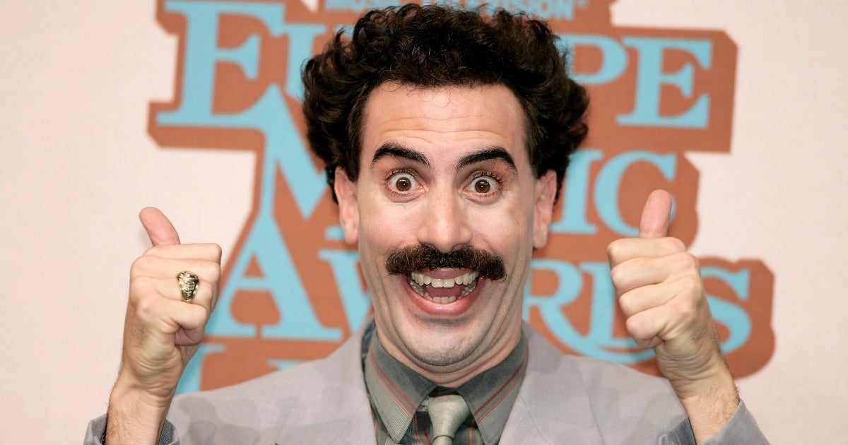sacha baron cohen borat getty images
