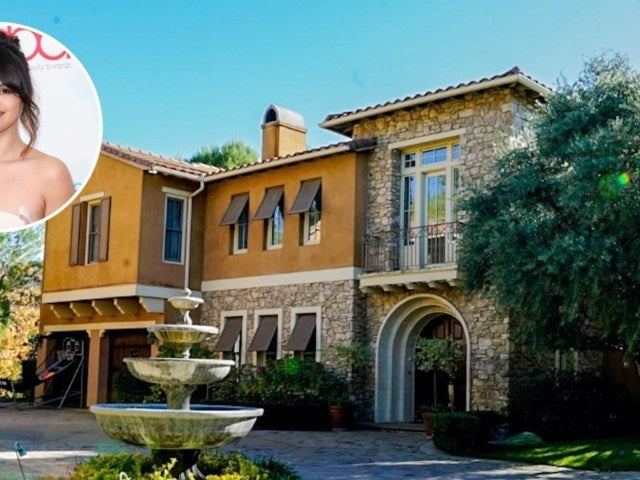 Tour Selena Gomez's $6.6M Former Sumptuous Calabasas Home Now Owned By French Montana