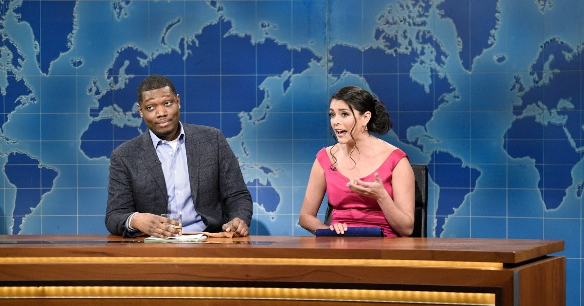 snl michael che cecily strong nbc getty images
