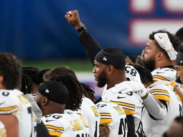 Steelers Hold 'Against Racism' Banner During National Anthem on 'Monday Night Football'