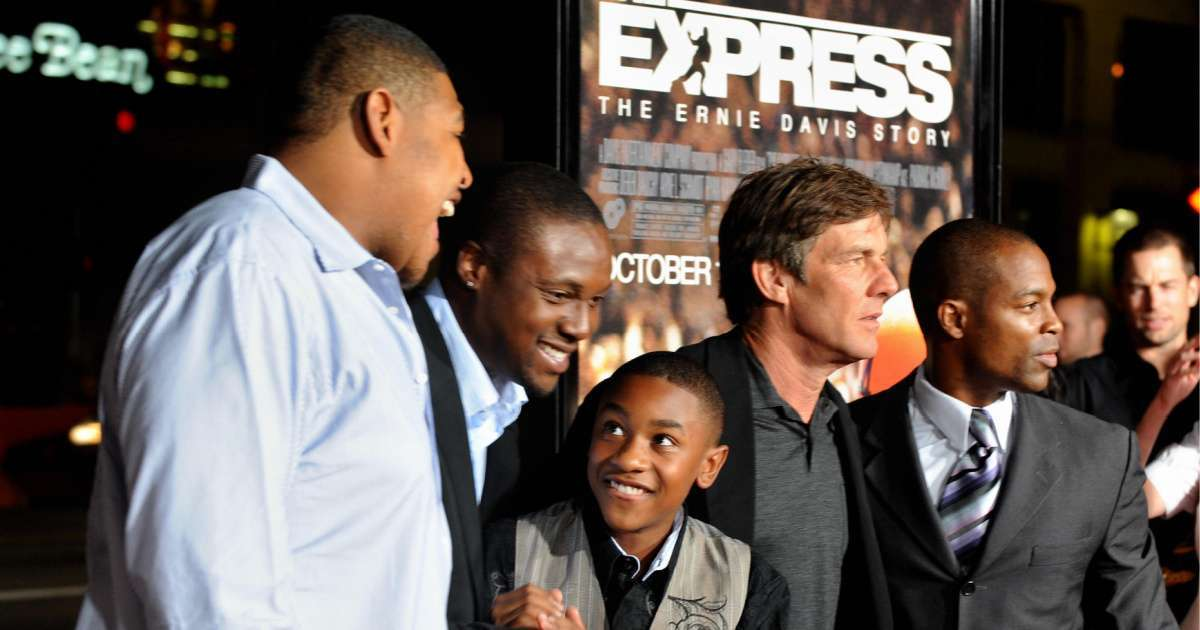 The Express_ The Ernie Davis Story cast where are they now