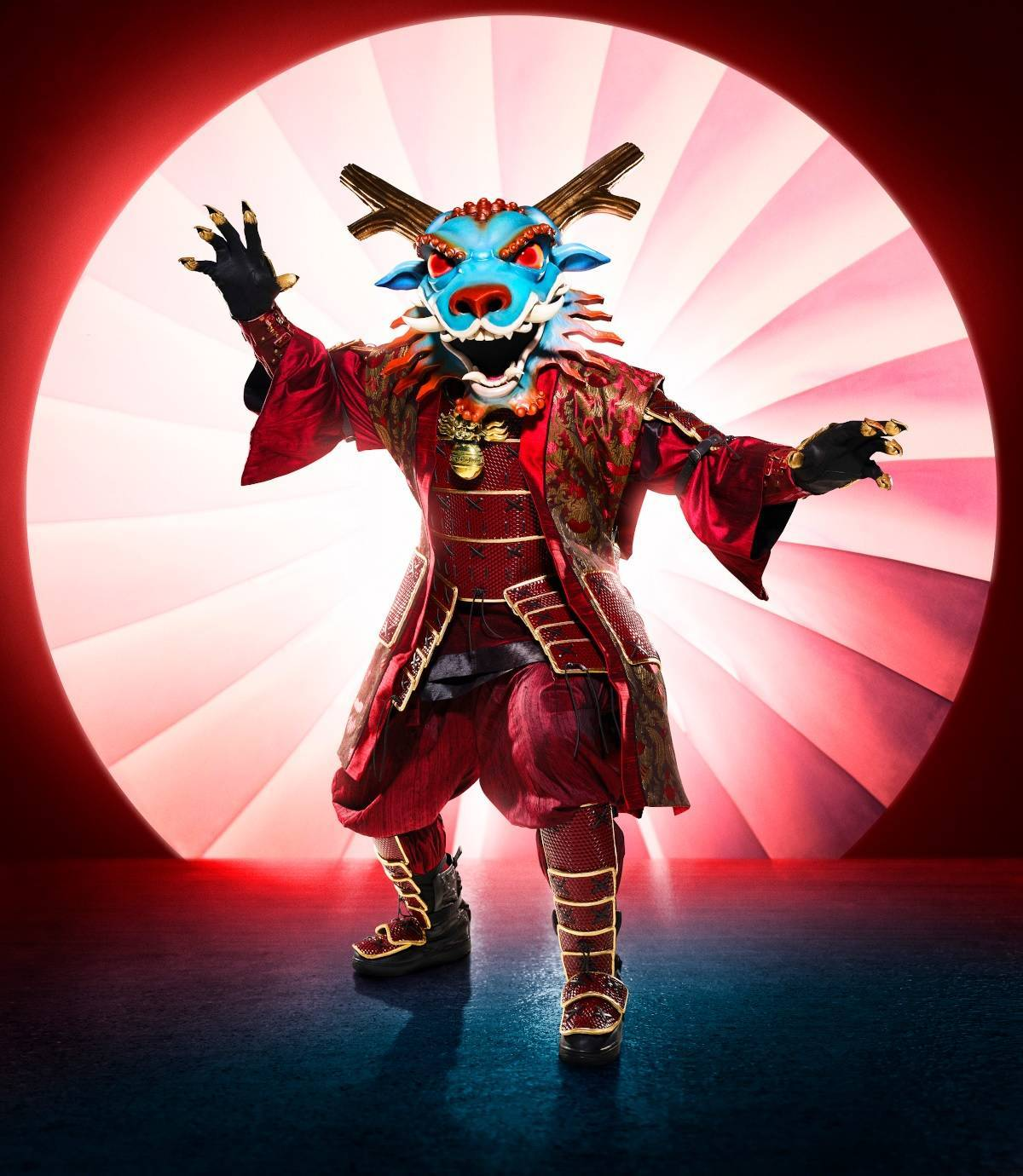 the masked singer dragon fox