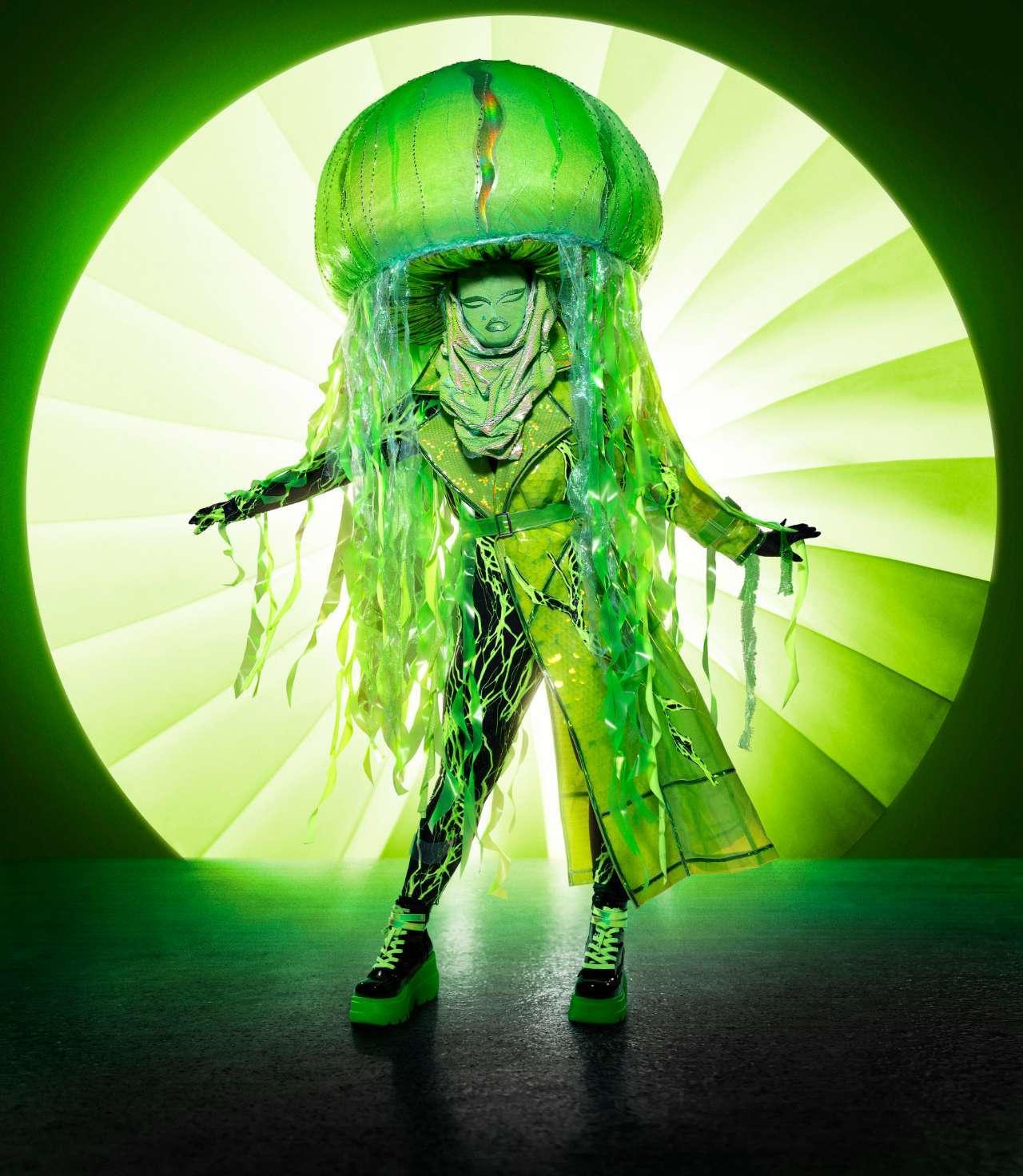 The Masked Singer Jellyfish