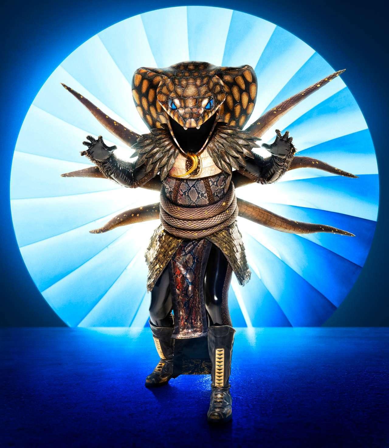 The Masked Singer Serpent