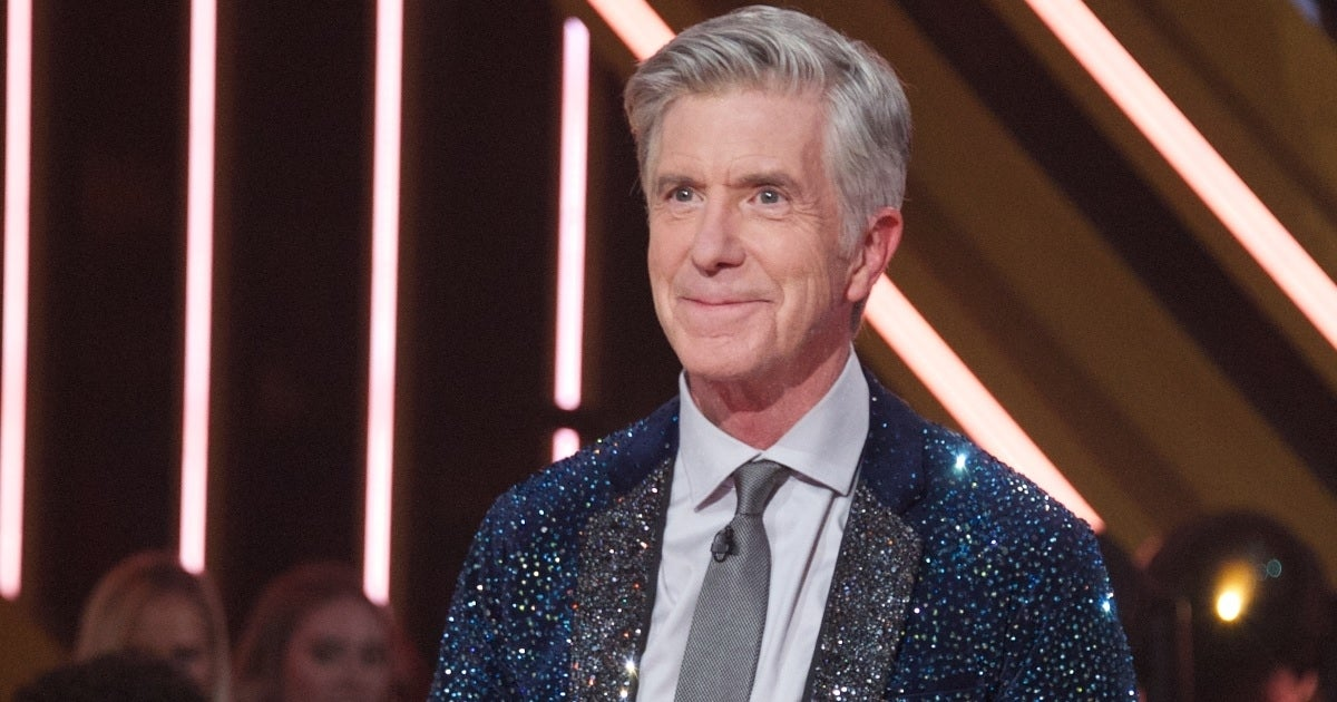 tom bergeron glitter jacket getty images