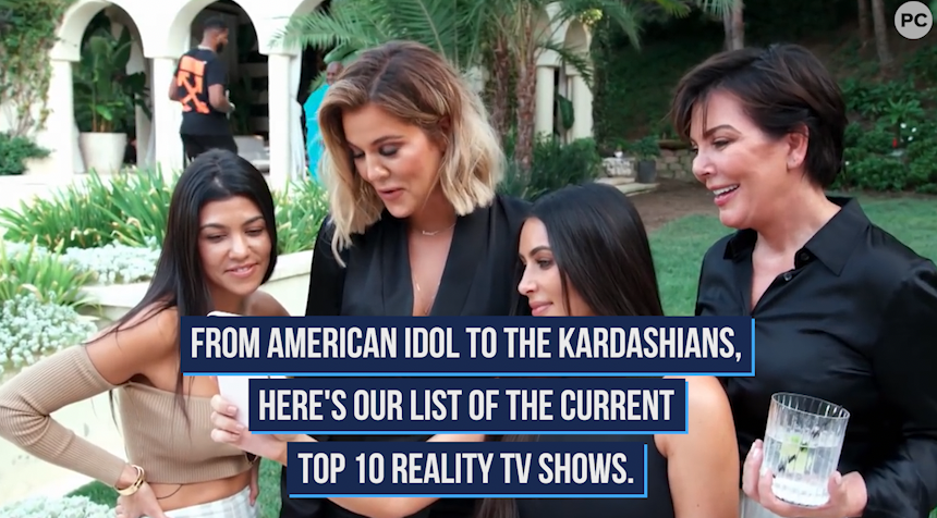 Top 10 Reality TV Shows of Fall 2020