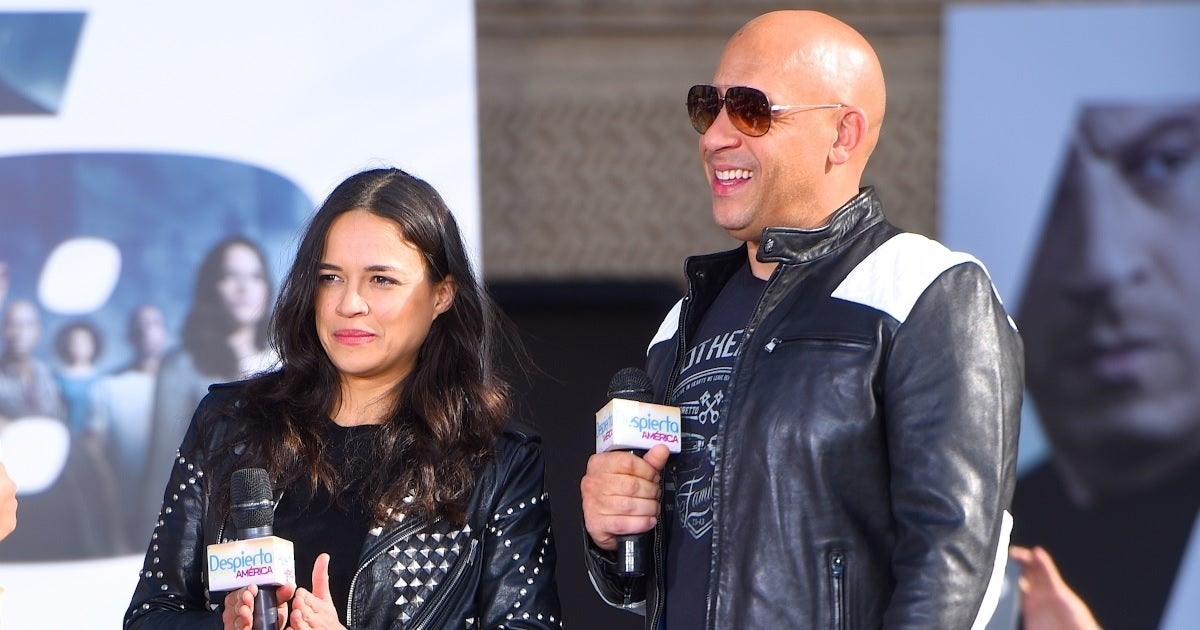 vin diesel michelle rodriguez getty images