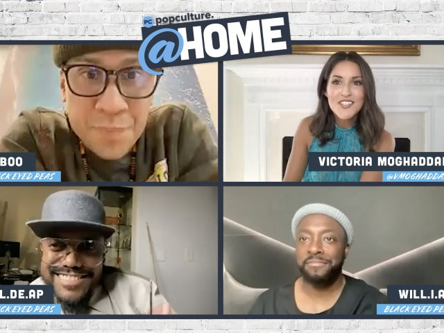 Will.i.am, Taboo and Apl.de.ap Talks The Black Eyed Peas - PopCulture @Home Exclusive Interview