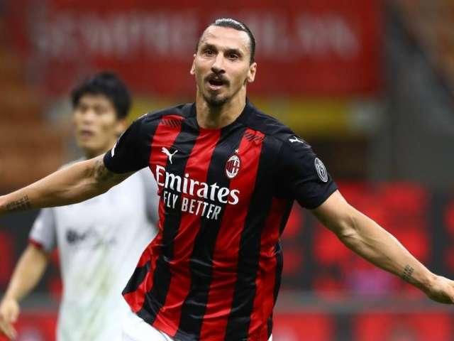 AC Milan's Zlatan Ibrahimovic Tests Positive for COVID-19