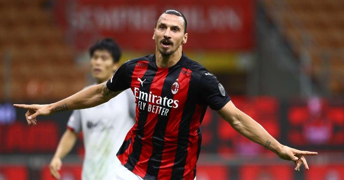 Zlatan Ibrahimovic AC Milan COVID-19