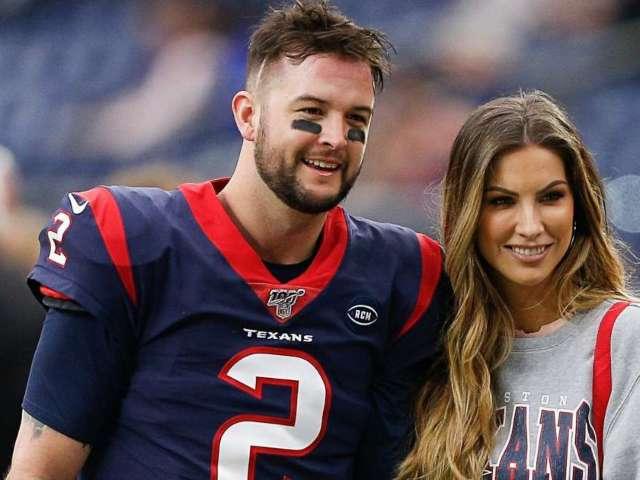 Texans' AJ McCarron and Wife Katherine Webb Expecting Third Child