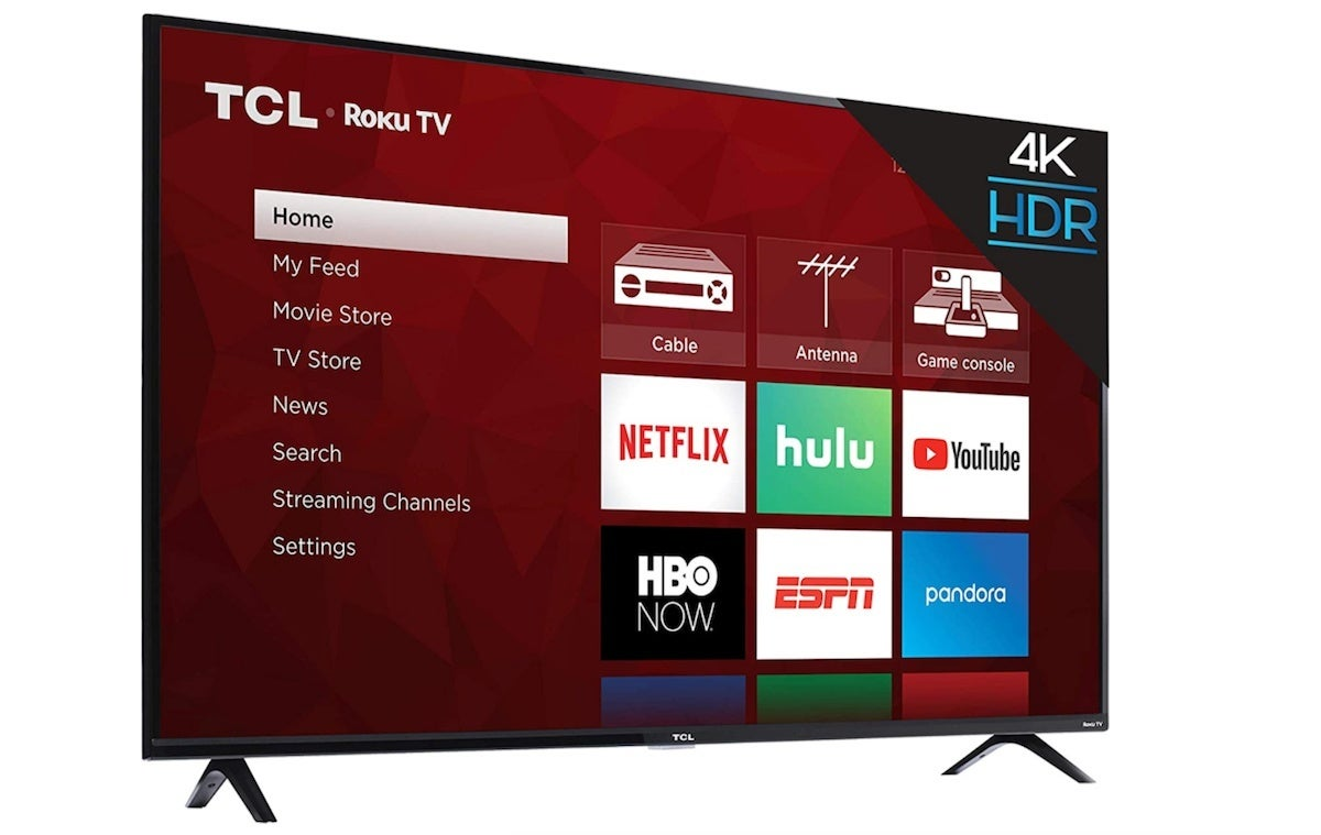 amazon-prime-day-tv-deals-TCL 50S425 50 inch 4K Smart LED Roku TV (2019)